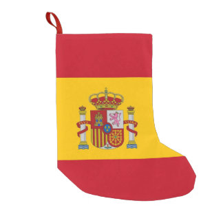 Christmas Stockings with Flag of Spain