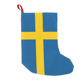 Christmas Stockings with Flag of Sweden