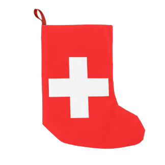 Christmas Stockings with Flag of Switzerland