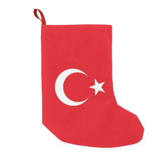 Christmas Stockings with Flag of Turkey