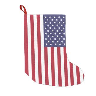 Christmas Stockings with Flag of USA