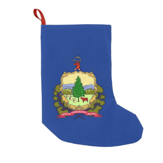 Christmas Stockings with Flag of Vermont