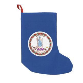 Christmas Stockings with Flag of Virginia