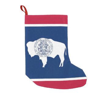 Christmas Stockings with Flag of Wyoming