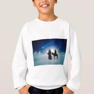 Christmas story Mary and Jesus Sweatshirt
