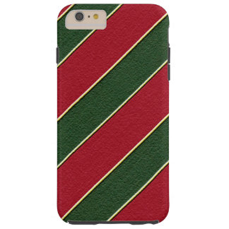 Christmas stripe pattern iPhone 6 plus vibe case