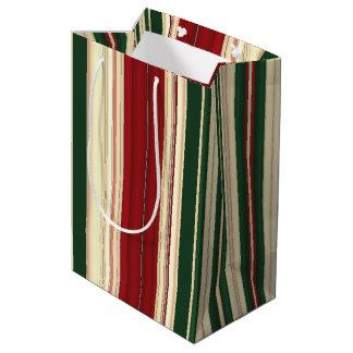 Christmas Stripes-25-GIFT BAG M