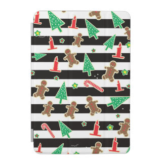 Christmas Stripes iPad Mini Cover