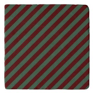 Christmas Stripes Trivet