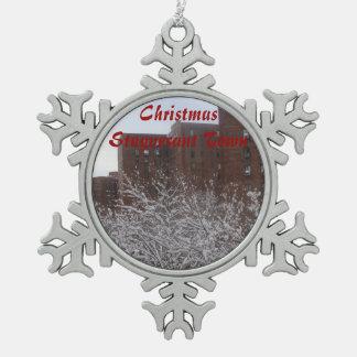 Christmas Stuyvesant Town Snowflake Ornament