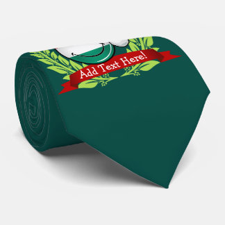 Christmas Style Hungarian Flag Tie