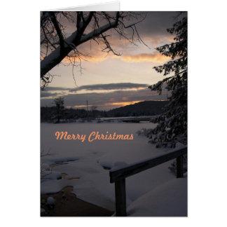 Christmas Sunrise Custom Cards