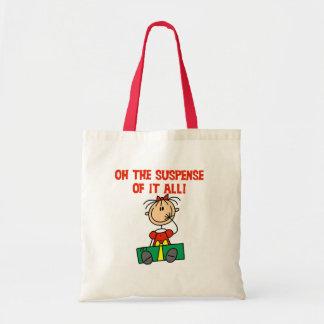 Christmas Suspense Tote Bag
