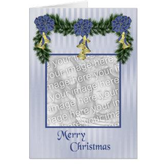 Christmas Swag Greeting Card