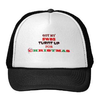 CHRISTMAS SWAGG HATS