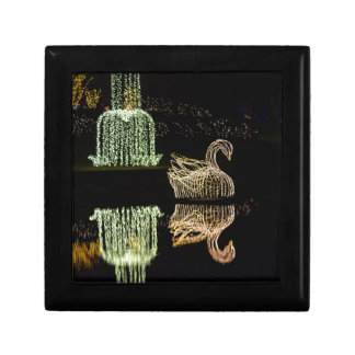 Christmas Swan 2 2016 Jewelry Boxes
