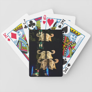Christmas Swans 2016 Bicycle Playing Cards