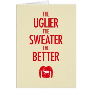 Christmas Sweater Card