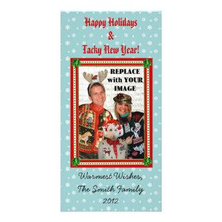 Christmas Sweater-izer Snowflake Photo Card