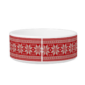 Christmas Sweater Knitting Pattern - RED Bowl