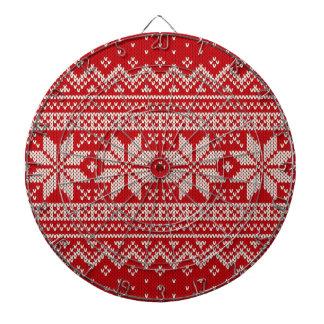 Christmas Sweater Knitting Pattern - RED Dartboards