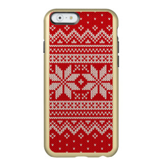 Christmas Sweater Knitting Pattern - RED Incipio Feather® Shine iPhone 6 Case