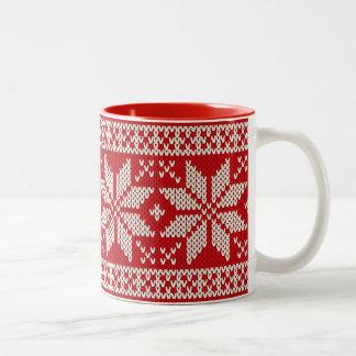 Ugly Christmas Sweater Coffee Travel Mugs Zazzle Canada
