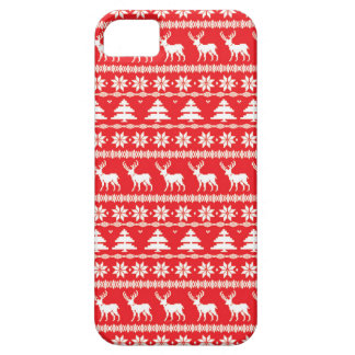 Christmas Sweater or Nordic Folk Ornament Case For The iPhone 5
