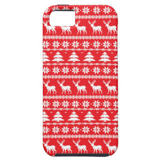 Christmas Sweater or Nordic Folk Ornament iPhone 5 Case