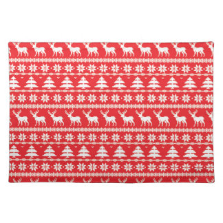 Christmas Sweater or Nordic Folk Ornament Placemat