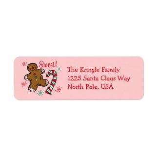 Christmas Sweet Address Label