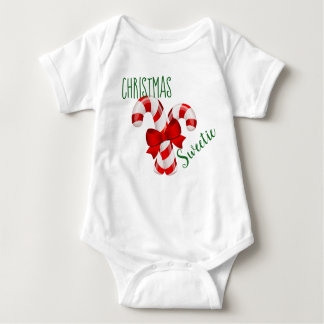 Christmas Sweetie Baby Bodysuit