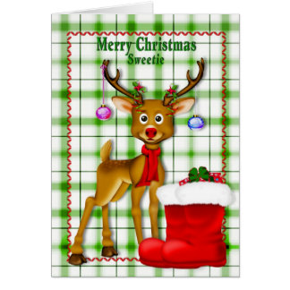CHRISTMAS - SWEETIE - CHILD CARD
