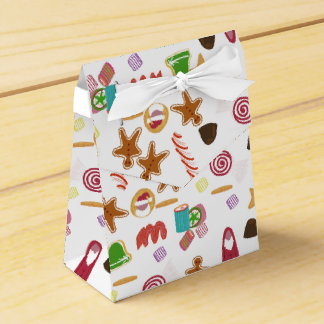 Christmas Sweeties Candies, Peppermints Candy Cane Favor Box
