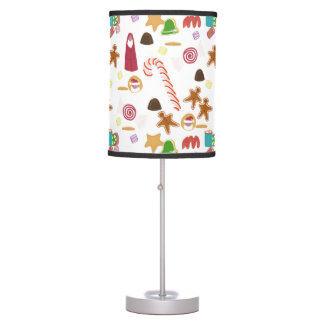 Christmas Sweeties Candies, Peppermints Candy Cane Table Lamp