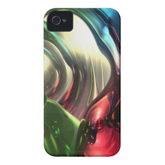 Christmas Swirl Abstract Blackberry Bold Case