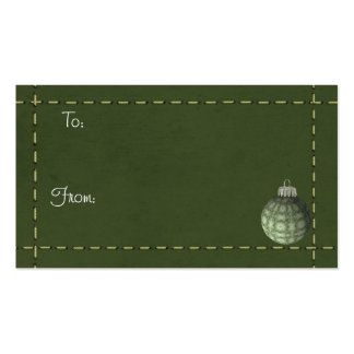 Christmas Tags Business Cards