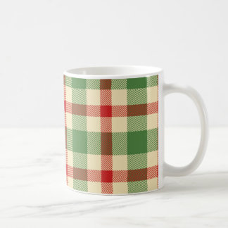 Christmas Tartan Plaid Mug