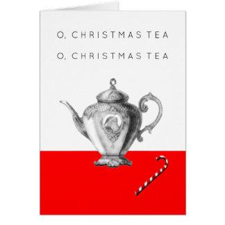 Christmas Tea Invitations
