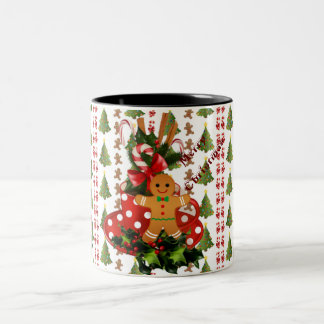 Christmas Tea Two-Tone Coffee Mug