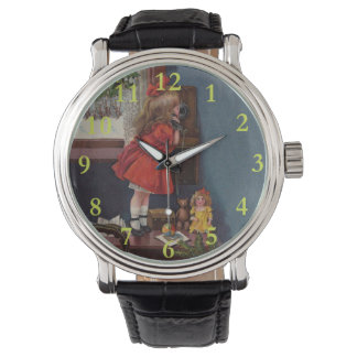 Christmas Telephone Vintage Watch