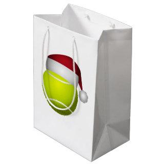 Christmas Tennis Ball Medium Gift Bag