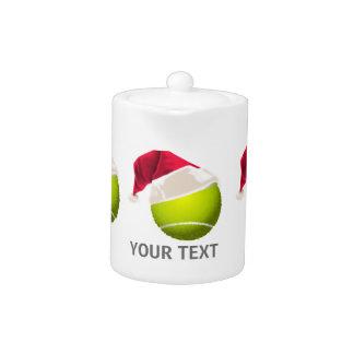 Christmas Tennis Ball Santa Hat