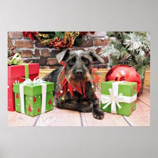 Christmas - Terrier X - Bridget Posters