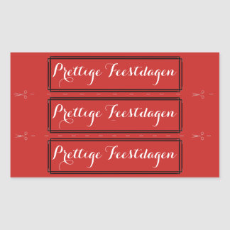 Christmas text pleasant holidays sticker