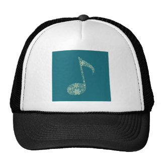 Christmas the note trucker hat
