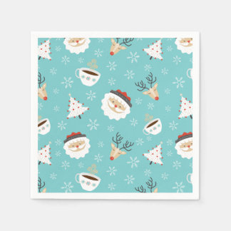 Christmas Theme Napkins Paper Napkins
