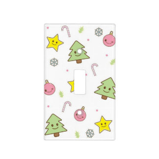 Christmas Themed Light Switch Cover