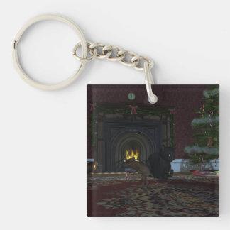 Christmas Thief Keychain