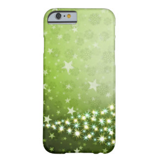 CHRISTMAS THREE GREEN ABSTRACT IPHONE 6S HARD CASE